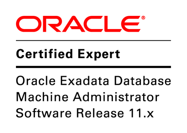 OCE Exadata Database Machine Administrator