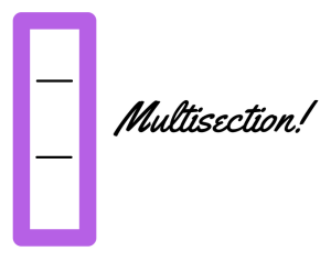 multisection