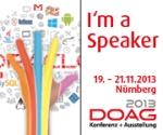 DOAG 2013 Speaker