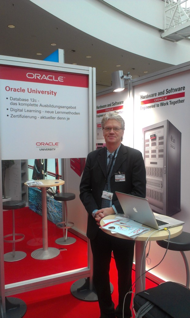 OU booth at the DOAG