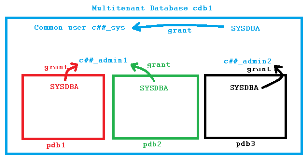 Common Users in Oracle 12c