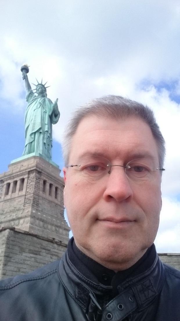 Me on Liberty Island