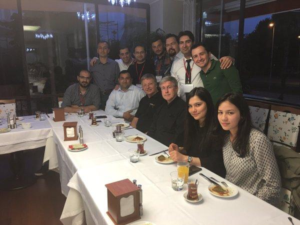 Istanbul speakers dinner